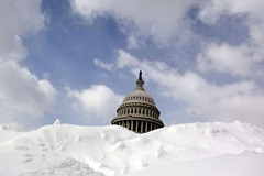 Snow capitol building