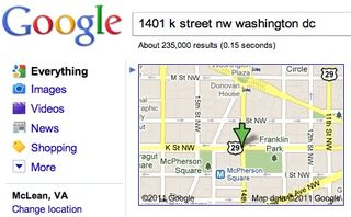 Google Map example