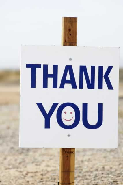 Thank-You-sign